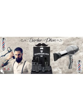 HIPSTERS CITY Kit Barba e Baffi + Phon