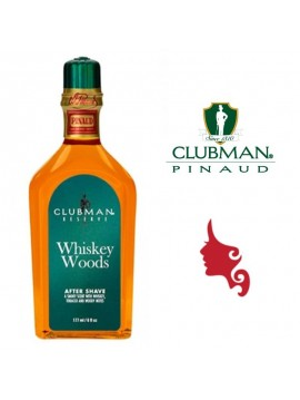 CLUBAMAN PINAUD Reserve Whiskey Woods After Shave Lotion 177 ml